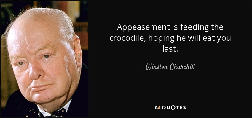 The crocodile comes for Ted Wheeler
