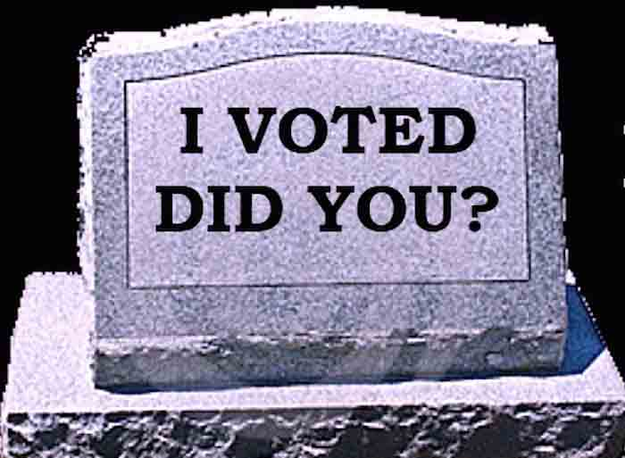 No evidence of voter fraud?
