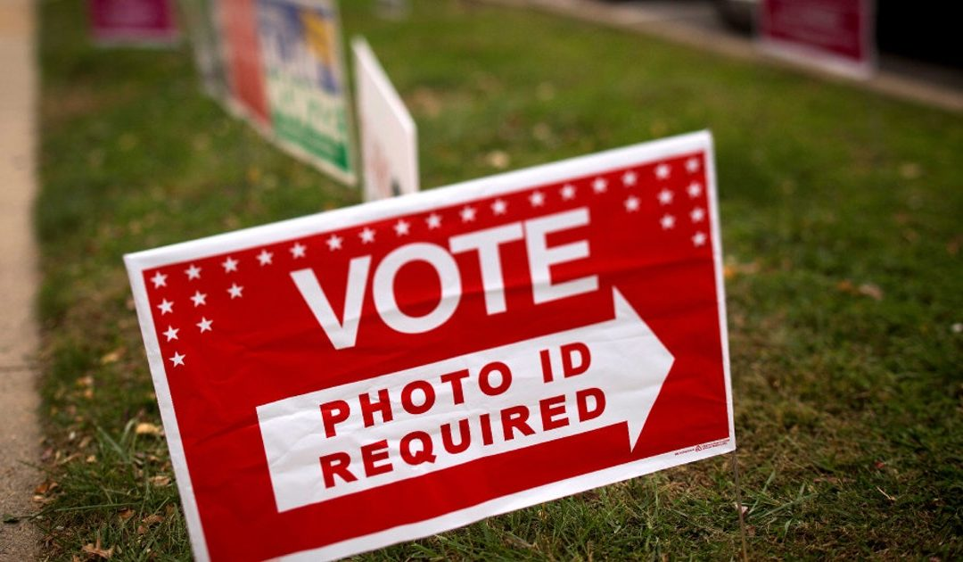 Voting, voter ID and mail-in ballots. And a suggestion.