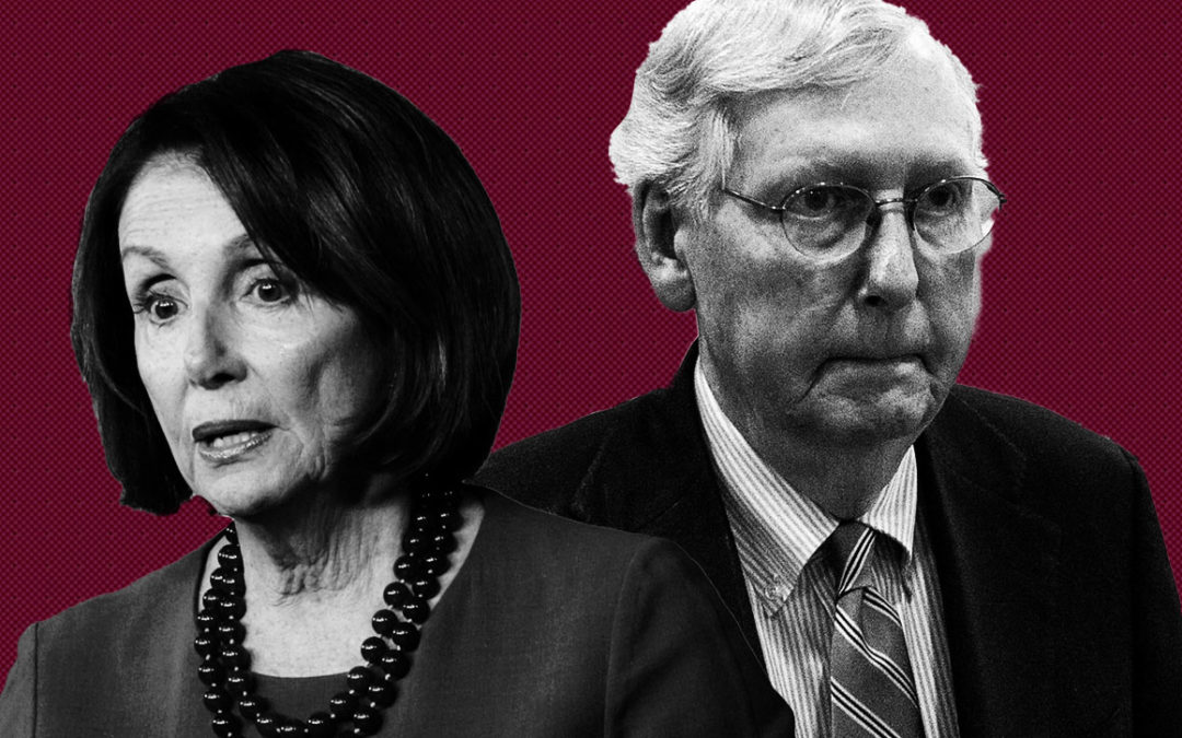 McConnell and Pelosi knew the riots were coming and used them as a ruse to eliminate Trump