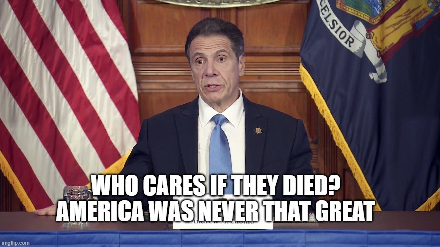 Finally. Cuomo gets his come uppance
