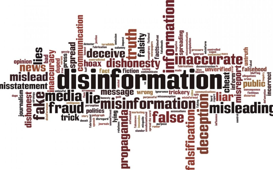 The state owned media is actively promoting disinformation