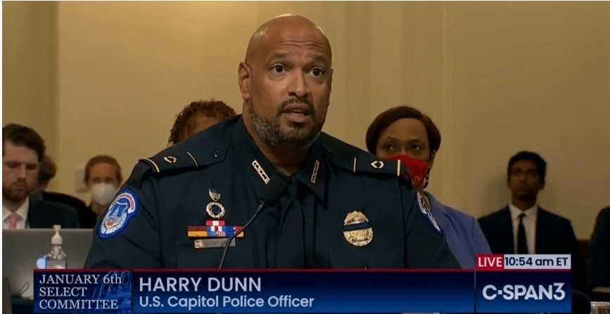 Capitol cop gives us reasons to doubt his testimony