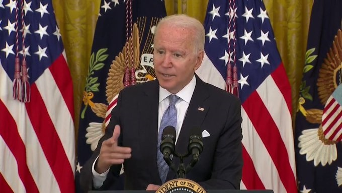 Biden: I Might Decide I Have the Power to Unilaterally Mandate Vaccines for the Entire Country