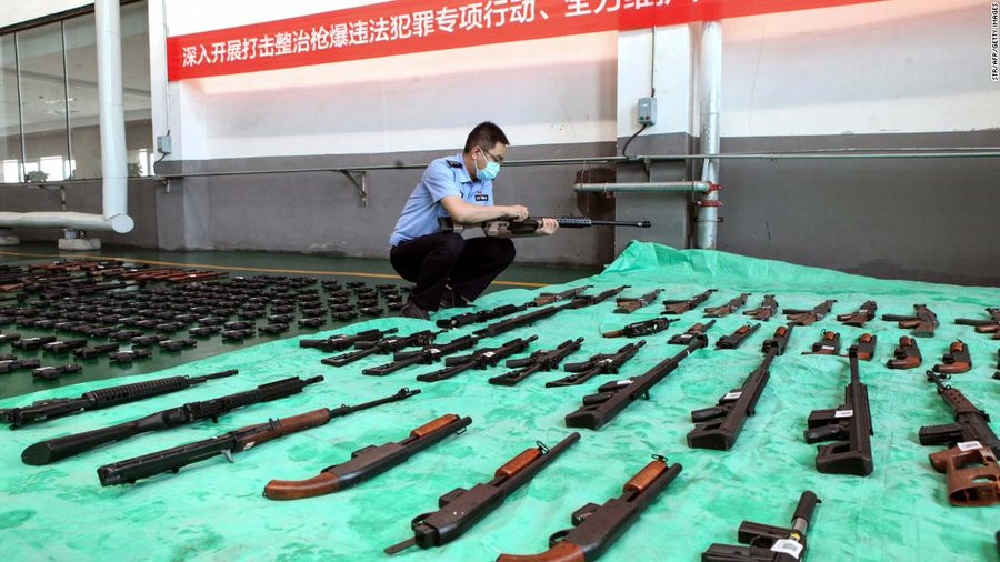 New CNN 'analysis' contrasts the US' tolerance for gun violence with the Chinese government's commitment to 'public safety'