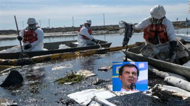 How Biden and Buttigieg caused an oil spill in California